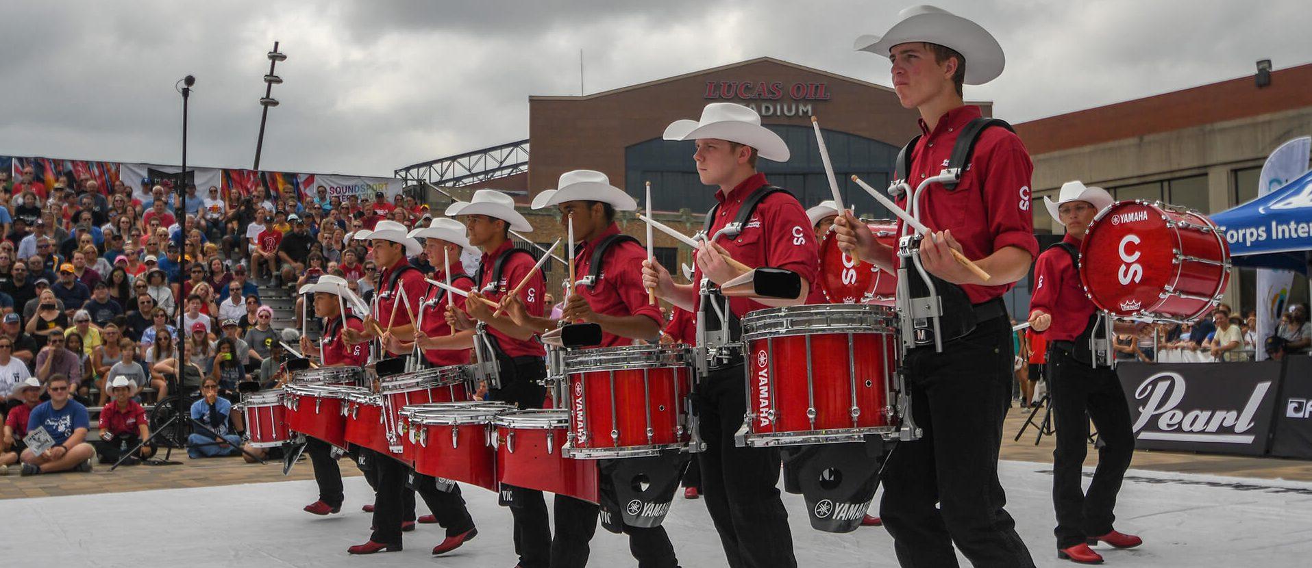 Calgary Stampede Taking Indy Drumline Battle Crown Back To